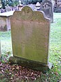 Gravestone at All Saints Church, Great Ayton - geograph.org.uk - 594038.jpg