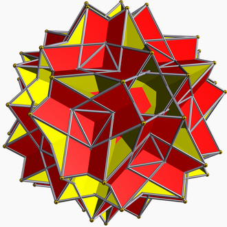 Compound of six pentagonal prisms - Image: Great rhombidodecahedron