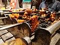 Grilled Prawn and chicken kebab in restaurant by sankar.jpg