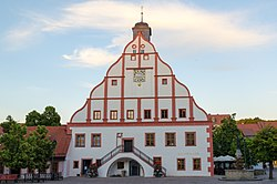 Grimma, Markt, Rathaus-005.jpg