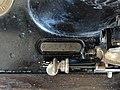 """Gritzner Sewing Machine """"R"""", Serial Number Plate.jpg"""