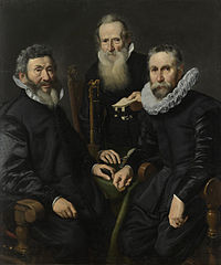 Group Portrait of an Unidentified Board of Governors