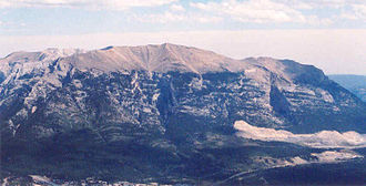 Fairholme Range - Grotto Mountain in 2005