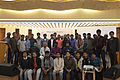 Group photo of Bengali Wikipedians at Wikipedia 15 celebration in BSK (05).jpg