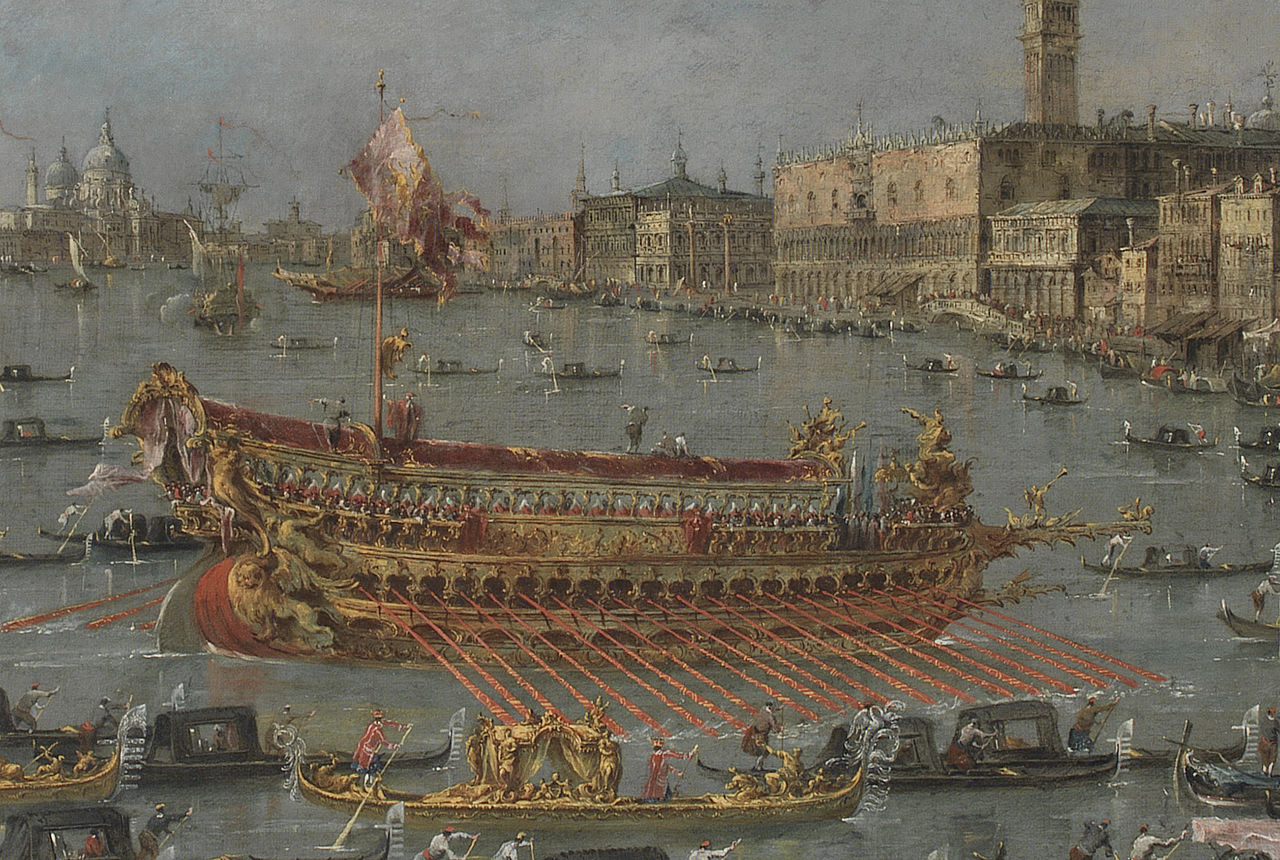 File Guardi Francesco Bucintoro Detail Jpg Wikimedia