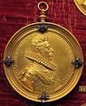 Guillaume dupré, medaglia di Francesco di Ferdinando de' Medici con gorgiera (no verso, bronzo dorato).JPG
