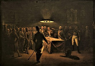 History of Paraguay - Pedro Juan Caballero demands shared power from governor Velasco on the night of May 14, 1811.