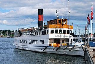 MV <i>Gustafsberg VII</i> Swedish passenger ferry built in 1912