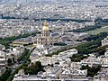 Hôtel des Invalides visto do terraço do Montparnasse - panoramio.jpg