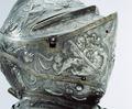 Höger sida av hjälm till Erik XIVs rusting - Livrustkammaren - 48134.tif