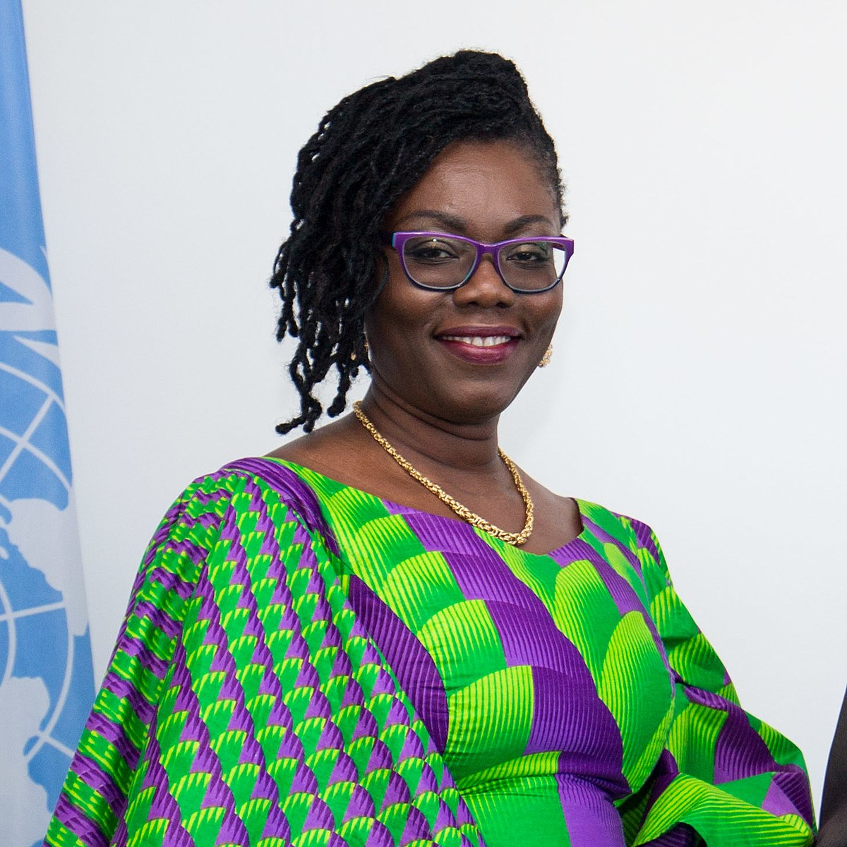 Communication Minister, Ursula Owusu and KelniGVG