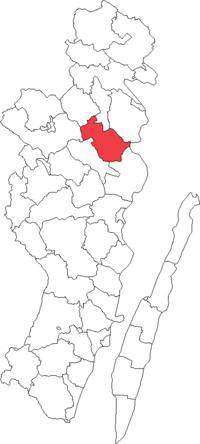 Hjorteds landskommune i Kalmar amt
