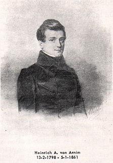 Heinrich Alexander von Arnim Prussian statesman