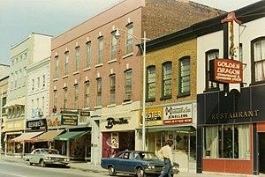 Belleville, Ontario - Front Street, 1972