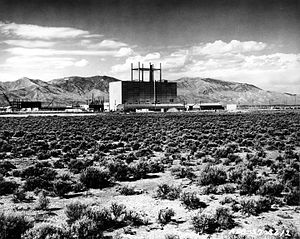 Naval Reactors Facility - View from outside, circa 1957.