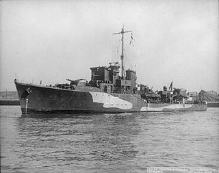 Greek destroyer <i>Adrias</i> (L67)