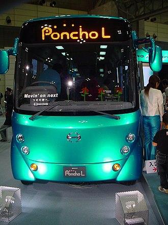 Hino Poncho - Image: HINO Poncho 04984