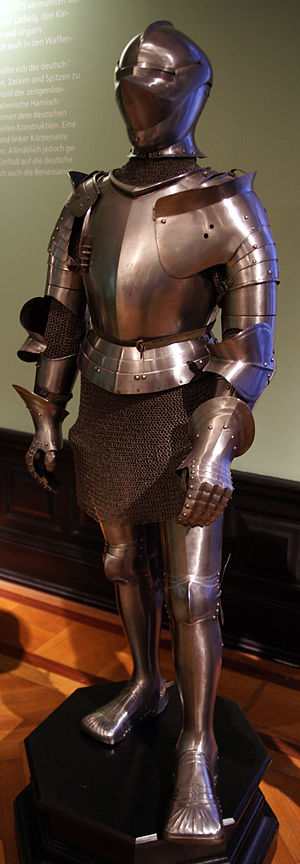 Giano II di Campofregoso - The armour of Giano II di Campofregoso, made c. 1510