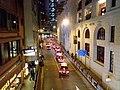 HK Central night 舊中區警署 Ex-Central Police Station 奧卑利街 Old Bailey Street footbridge 荷李活道 Hollywood Road October 2018 SSG 03.jpg