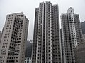 HK Mid-levels 21 Robinson Road 豪景閣 Good View Court roof view Yukon Court Tycoon Court March-2011.JPG
