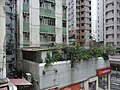 HK Sai Ying Pun Centre Street Federate Building terraces Sept-2012.JPG
