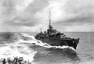 HMAS Arunta (I30) - HMAS Arunta in July 1943