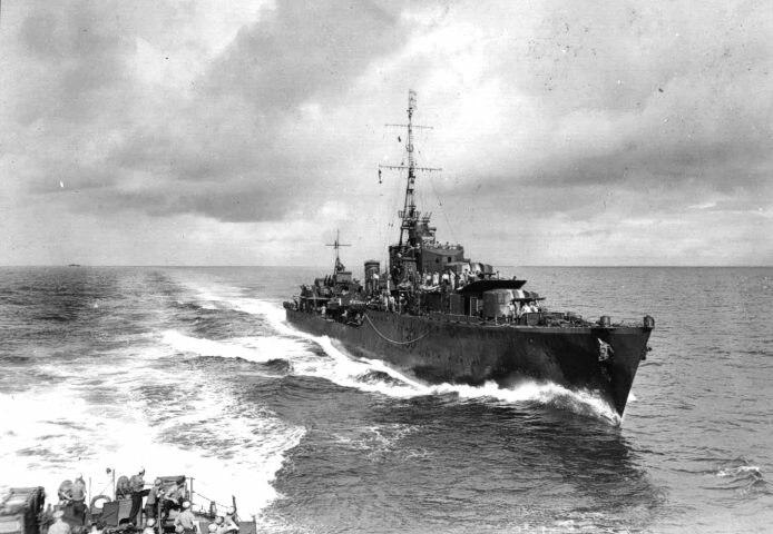 HMAS Arunta I30 July 1943