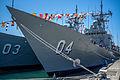 HMAS Darwin and Sydney during International Fleet Review 2013 Open Day (1).jpg