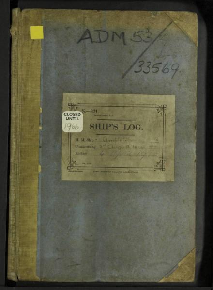 File:HMS AMPHITRITE – August 1914 to April 1915, UK, Mediterranean, Atlantic (Old Weather).djvu