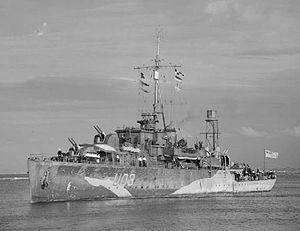 Offshore Structures (Britain) Ltd. - Haverton Hiil built HMS Erne (U03) in 1943