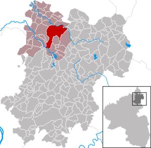 Hachenburg - Image: Hachenburg im Westerwaldkreis