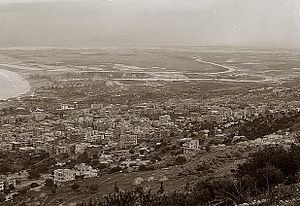 Haifa from hill side 1898