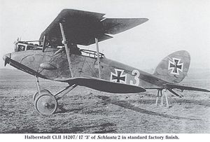 Halberstadt CL II WW1 aircraft left.jpg