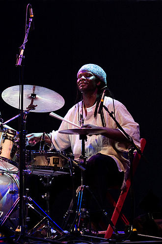 Hamid Drake - Hamid Drake at Moers Festival 2006, Germany