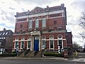 Hampstead Town Hall, Haverstock Hill, March 2021.jpg