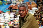 Handicrafts seller