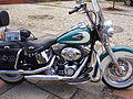 Harley Davidson Heritage Softail Side View.JPG