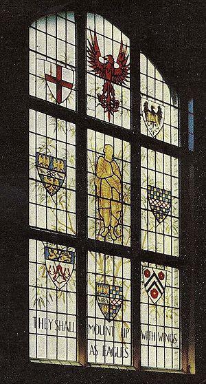 Bedford Modern School - The Harpur Window, Bedford Modern School