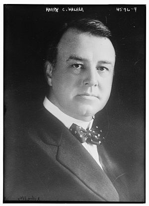 Harry C. Walker - Harry Clay Walker in 1918