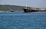 Harvest Moon and Almostafa cargos on the Bosphorus in Istanbul, Turkey 001.jpg