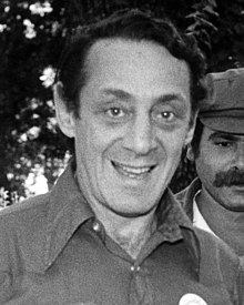 Harvey Milk at Gay Pride San Jose, June 1978 (cropped).jpg