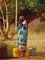Hauling water (Chipata).jpg