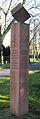 Hauptfriedhof Karlsruhe, Mahnmal für die nach einem Luftangriff vom 22. Juni 1916 in einem Zirkus g.jpg