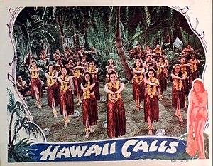 Hawaii Calls (film) - Image: Hawaii Calls lobby card 2