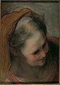 Head of an Old Woman Looking to Lower Right (Saint Elizabeth) MET DP102188.jpg