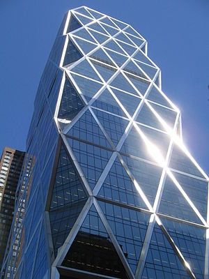 Hearst Tower (Manhattan) - Image: Hearst Tower April 2008