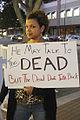 Heather Henderson at John Edward Protest.jpg