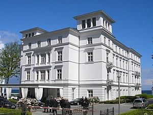 Grand Hotel Heiligendamm - Grand Hotel Heiligendamm, main building