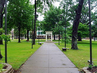 Henderson State University - On campus at Henderson State University