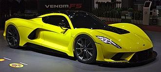 Hennessey Performance Engineering - Hennessey Venom F5